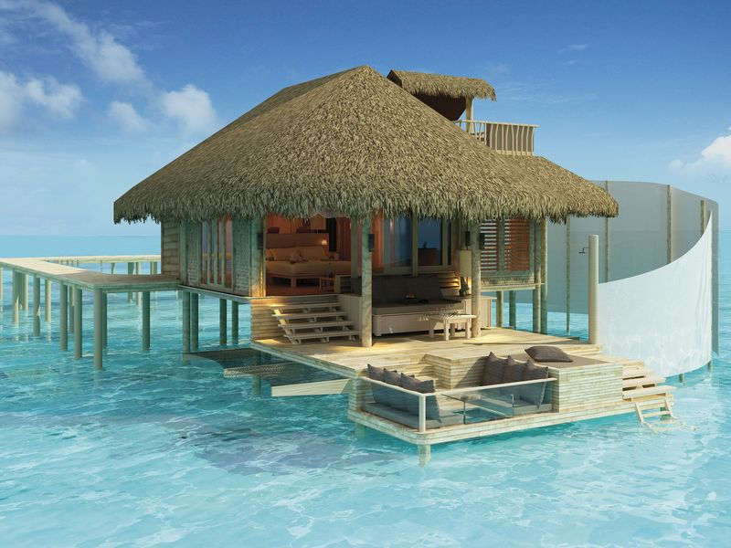 Ubytov n maledivy levn bungalovy i luxusn vodn vily for Mejores resorts maldives