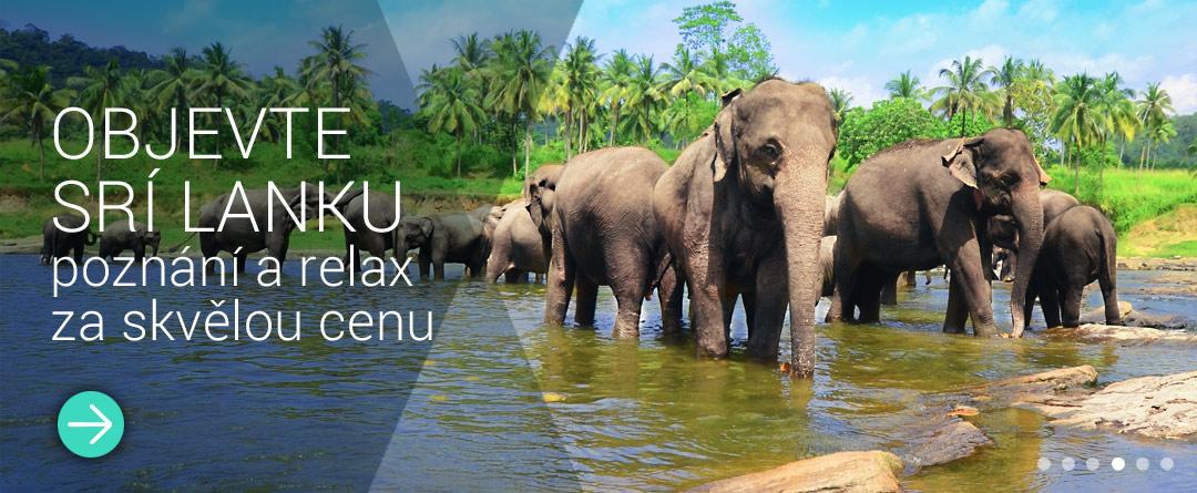 Pobytová zájezdy Srí Lanka