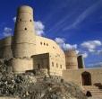 Dovolená v Ománu - pevnost Bahla