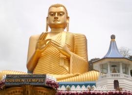 Zlatý chrám Dambulla
