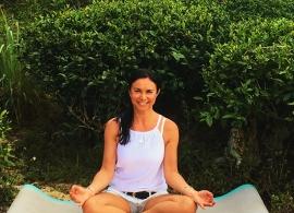 joga na čajových plantážích