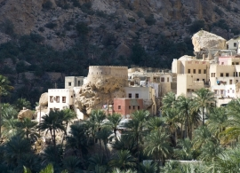 Pohoří Jebel Akhdar, Omán