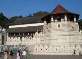 Chrám Buddhova zubu, Kandy