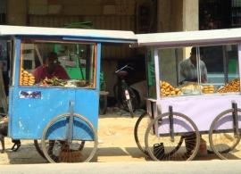 pouliční stánky, Srí Lanka