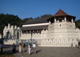 chrám Kandy Srí Lanka