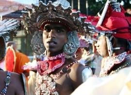 tanečník Srí Lanka