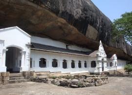 sklaní chrám v Dambulle