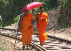 mnich Srí Lanka