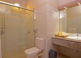 Adaaran Club Rannalhi  - koupelna v pokoji standard