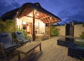Anantara Dhigu - plážová vila Sunset
