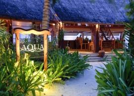 Anantara Dhigu - bar Aqua