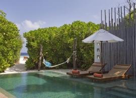 Plážová vila s bazénem - Anantara Kihavah