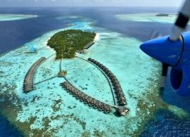 Ayada Maldives - letecký pohled