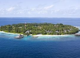 Bandos island resort - letecký pohled