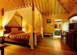 Bandos Island resort - zahradní vila
