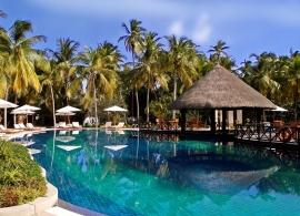 Bandos Island resort - bazén