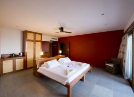 The Barefoot Eco hotel Maledivy - pokoj
