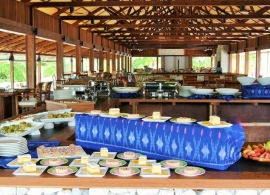 The Barefoot Eco hotel Maledivy - restaurace
