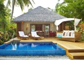 Baros Maldives - Baros vila s bazénem