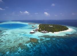 Baros Maldives - letecký pohled