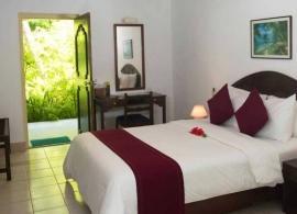 Biyadhoo island resort - pokoj standard, ložnice