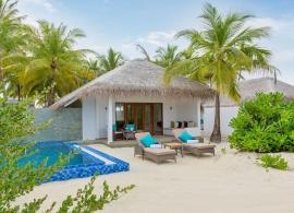 Cocoon Maledives - plážová suita s bazénem