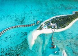 Cocoon Maledives - letecký pohled