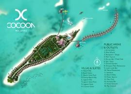 Cocoon Maldives mapa