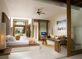 Plážová vila - Conrad Rangali Maledivy