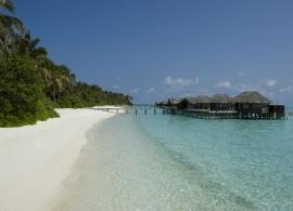 Vodní vila superior - Conrad Rangali Maledivy