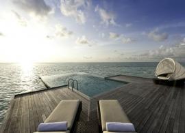 Vodní vila Sunset - Conrad Rangali Maledivy