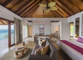 Dusit Thani Maledivy - vodní vila, pokoj
