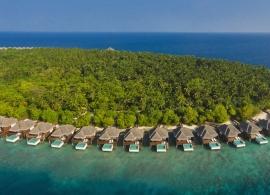 Dusit Thani Maledivy - vodní vily s bazénem