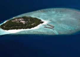 Fihalhohi island resort - letecký pohled