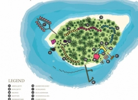 Fihalhohi island resort mapa