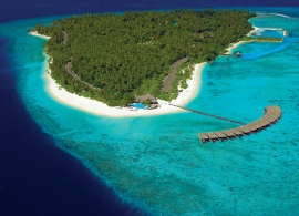 Filitheyo island resort - letecký pohled