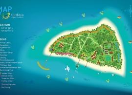 Filitheyo island resort mapa