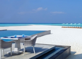 Four Seasons Landaa Giraavaru - restaurace Blue