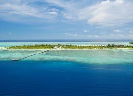 Fun island resort - letecký pohled