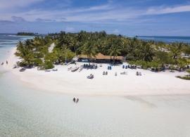 Fun island resort - pláž u centra vodních sportů