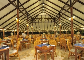 Fun island resort - restaurace