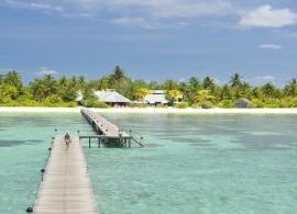 Fun island resort - příjezdové molo