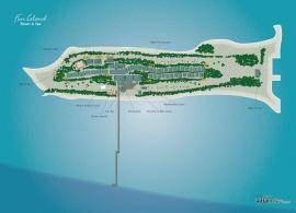Fun island resort mapa