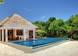 Plážová rezidence - Hideaway beach Maledivy