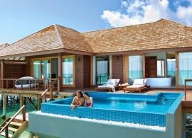 Deluxe vodní vila - Hideaway beach Maledivy