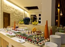 Hideaway beach resort Maledivy - restaurace