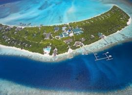 Hideaway beach resort - letecký pohled