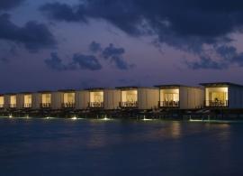 Holiday Inn Kandooma - vodní vily