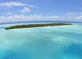Holiday island resort - letecký pohled