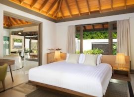 JA Manafaru - jednoložnicový suite s bazénem, pokoj